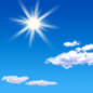 Today: Sunny, with a high near 79. Calm wind becoming north northwest around 5 mph in the afternoon.